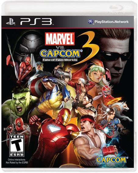 Marvel Vs Capcom 3 - Jogo Ps3