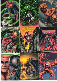 Pepsicards: Marvel Lote De 10 Tarjetas A Elegir
