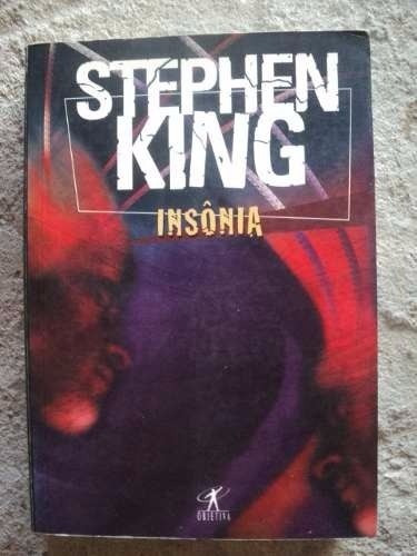 Livro - Insônia - Sthephen King - Semi Novo F26