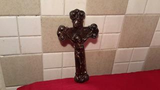 Cristo De Metal Ideal Para Proyecto Antiguo. C2877