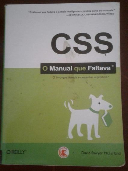 Livro - Css - O Manual Que Faltava