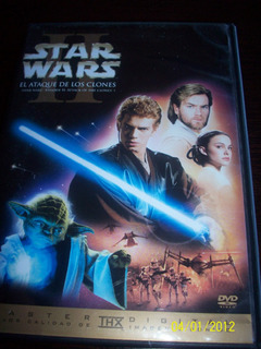 Star Wars Ii Attack Of The Clones Dvd 2009 Lucasfilm