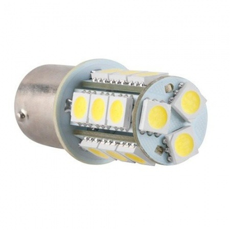 Lâpada Led Branca Automotiva P/ Ré 18 Leds Kx3