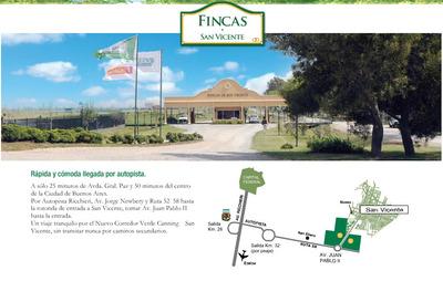 Lote En Fincas De San Vicente 1200m2 Sporting Club Fase4