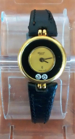 Reloj Chopard Happy Diamonds Dama Oro 18 Kt. (no Funciona)