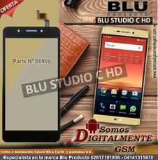 Micas Tactil Y Pantalla Blu Studio C Hd S090q Instalacion