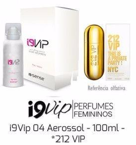 Perfume Feminino 212 Vip 100 Ml - I9 Vip