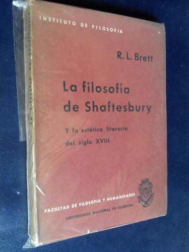 La Filosofía De Shaftesbury Y Estética Literaria Siglo Xviii