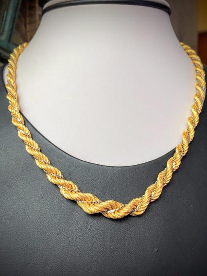 Colar Ouro 18k-750-26 Gr.-44cm.belíssimo.