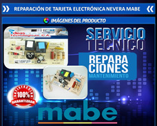 Reparación De Tarjeta Electrónica Nevera Mabe