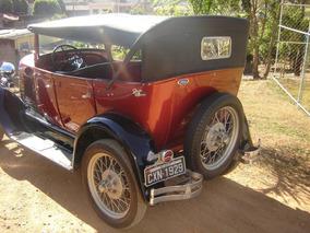Ford 1929 Original - Placa Preta - Fordinho 29