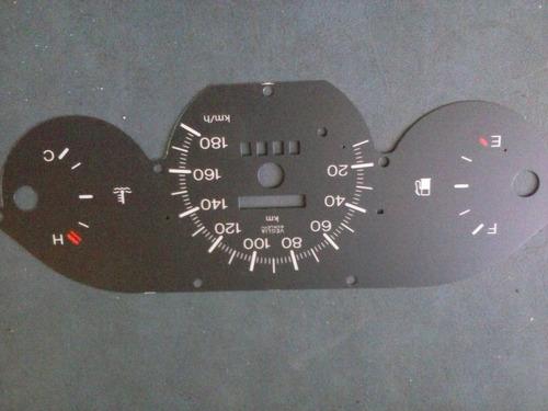 Frente Pvc Flexible Para Fiat Uno 1991