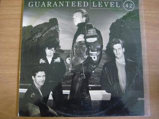 Level 42 - Guaranteed - Lp Vinilo Nuevo Laferrere-ba