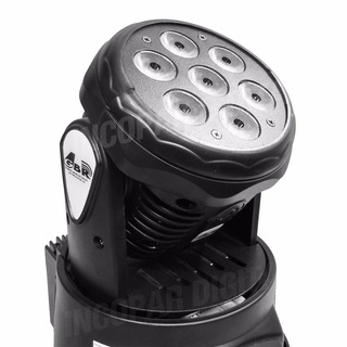 Moving Power Cabezal Movil Gbr 13 Canales Dmx Rgbw