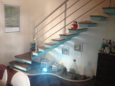 Casa Em Santos, No Bairro Vila Matias - 3 Dormitórios