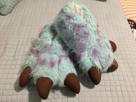 Pantuflas Garras Monsters Inc Sulley Talla 8/9 Mx