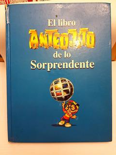 El Libro Anteojito De Lo Sorprendente Azul 90s