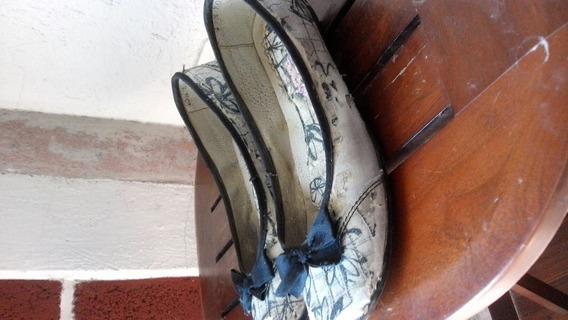 Zapatos Con Moño