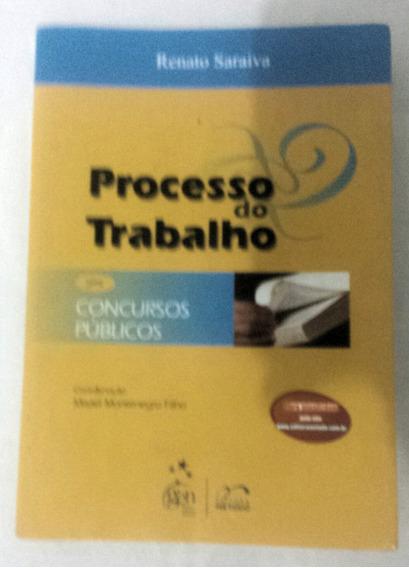 Livro - Processo Do Trabalho ( Concursos Públicos )