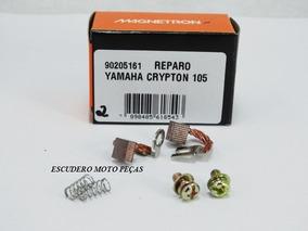 Reparo Porta Escova Do Motor De Arranque Crypton 105