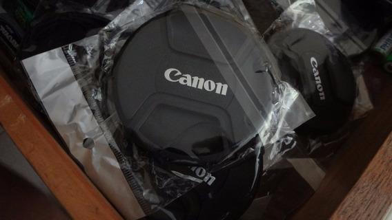 Tampa Frontal Lente Canon Lens Cap 77mm