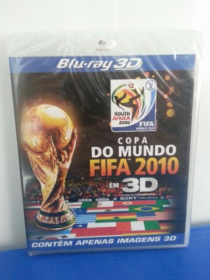 Bluray 3d Copa Do Mundo Fifa 2010 - Contém Apenas Imagens 3d
