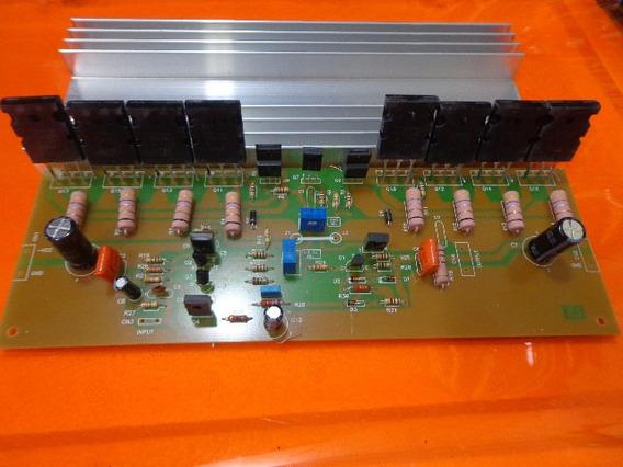 Placa Amplificador 500w Semi Montado/serve Na Cygnus Pa 1800