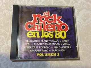 Caratula Rock Chileno En Los 80 Vol.2