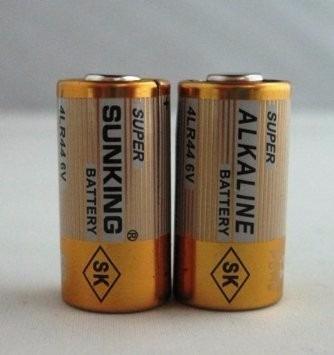 2x Pilhas 6v 4lr44 Bateria Para Coleira Anti Latido E Apito