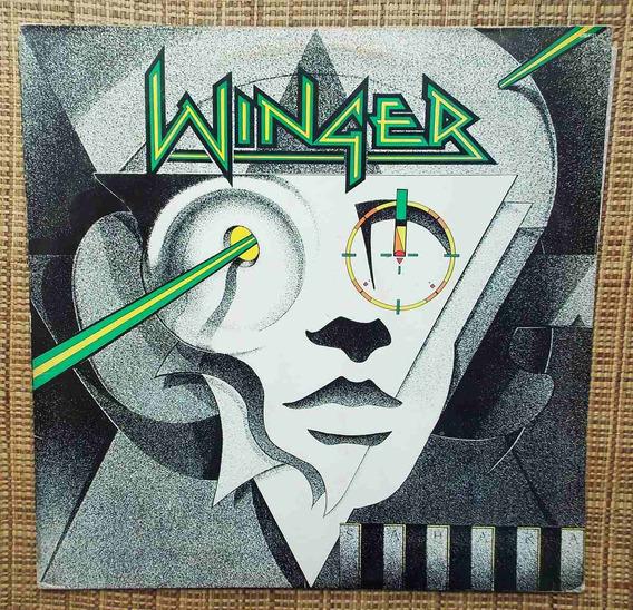 Lp Winger - Winger 1988 / Primeiro Disco Raro