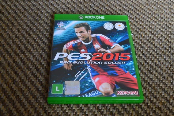 Game Pro Evolution Soccer (pes) 2015 Xbox One