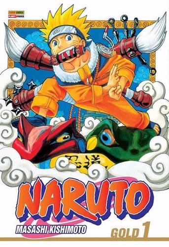 Naruto Gold 1 + Frete Incluso! Mangá Panini!