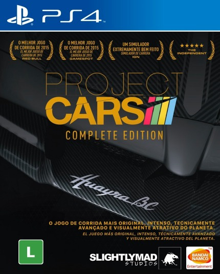 Project Cars Complete Edition - Ps4