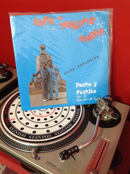 Pacho Y Pachito Salsa - Acetato Vinyl, Lp
