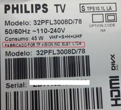 Memória Flash Gravada Tv Philips 32pfl3008 32pfl3008d - U402