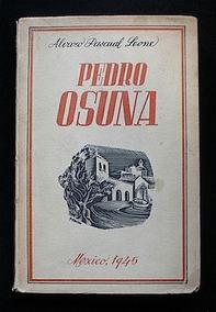 Libro Pedro Osuna - Álvaro Pascual Leone. 1945