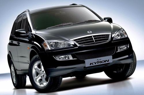 Sucata Kyron Diesel 4cc 2011 Para Retirada De Peças