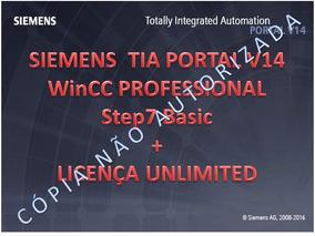 Siemens Tia Portal V14 Wincc Professional - Win 7 - 8.1 - 10