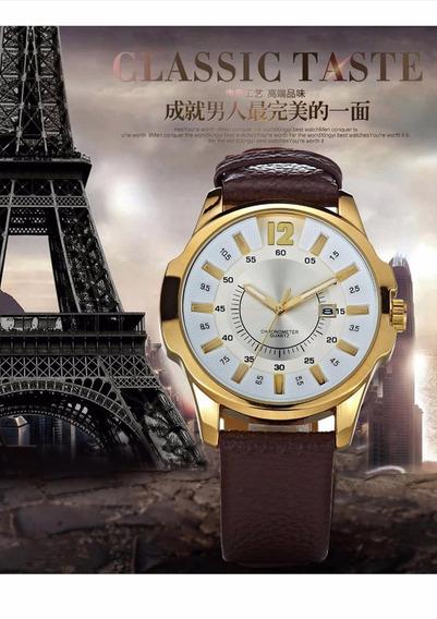 Relógio Masculino De Luxo Curren Legítimo