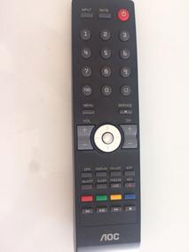 Controle Para Televisão Tv Aoc