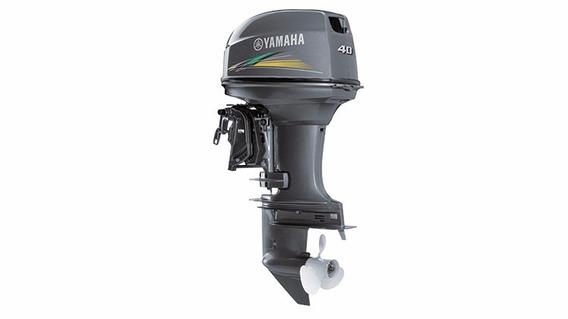 Motor De Popa Yamaha 40 Hp Elétrico Modelo 40aws - Zero