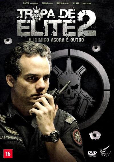 Dvd Tropa De Elite 2 O Inimigo Agora É Outro 5.1 Frete R$ 12