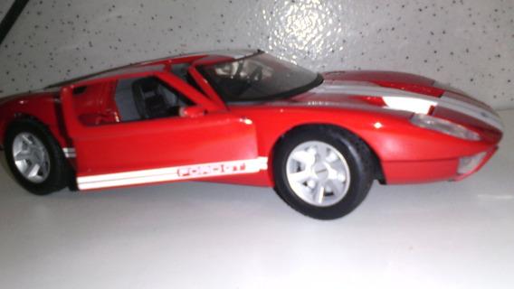 Miniatura Do Ford Gt Escala 1: 24 Motormax