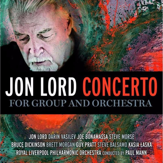Jon Lord Concerto For Group & Orchestra Cd Nuevo Deep Purple