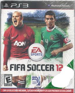 Fifa Soccer 12 Disco En Físico Nuevo Y Sellado