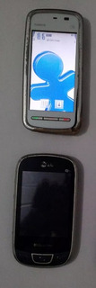 Lote Celular Nokia 5230 Touch Android Lg T515