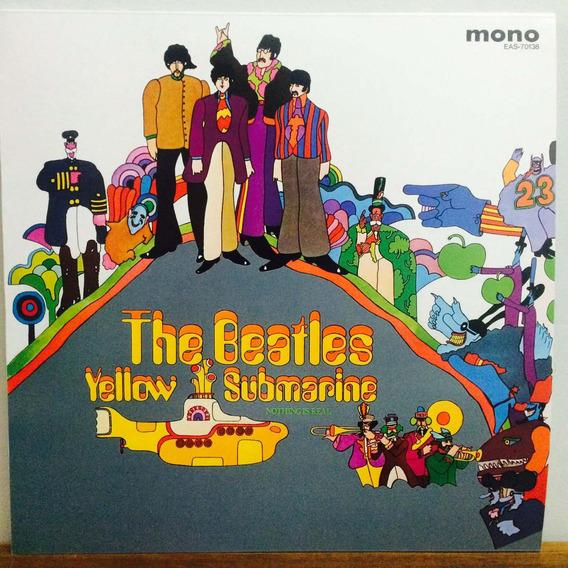 Lp The Beatles - Yellow Submarine Mono Import Japão Lacrado