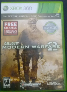 Call Of Duty Modernwarfare 2 Mw2 Modern Warfare Xbox 360