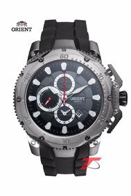 Relógio Orient Masculino Sport Puls. Borracha