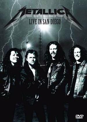Metallica - Live In San Diego - Original E Nacional
